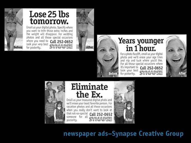 fagan graphics ad campaign for synapse Creative Group