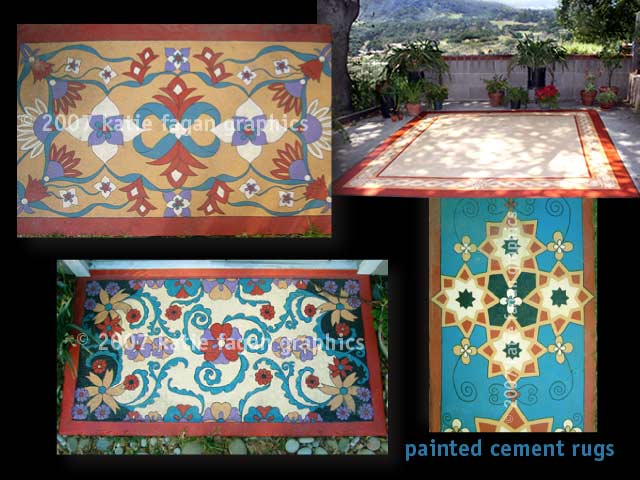 fagan graphics murals-painted rugs
