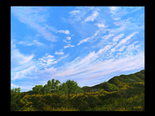 katie fagan graphics paintings-Big Sky