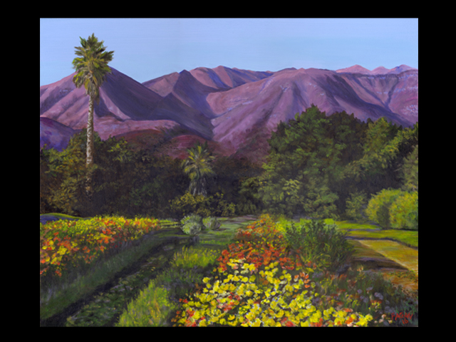 katie fagan graphics paintings-Ojai Farm