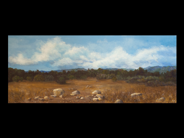 katie fagan graphics paintings-Ojai Valley Meadow