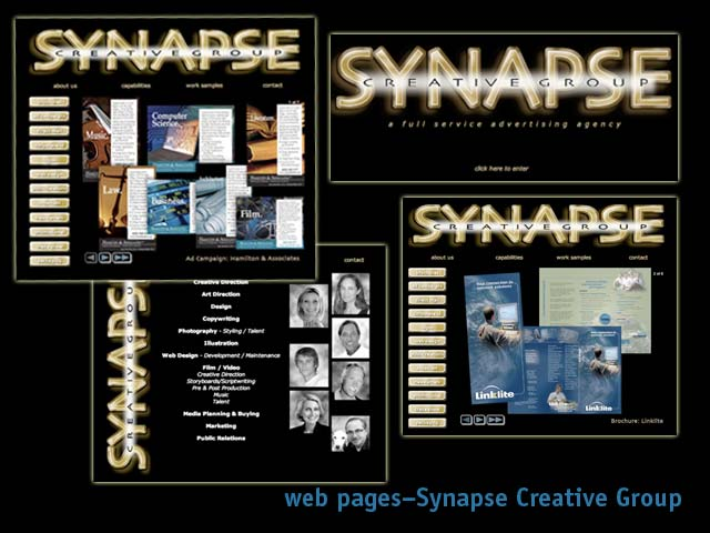 fagan graphics web-Synapse Creative group